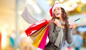 ショッピング中の女性